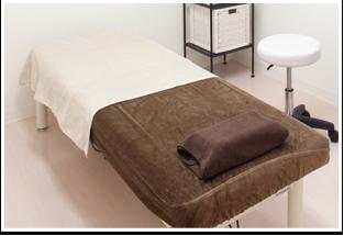 クレアクリニックの施術ベッド
